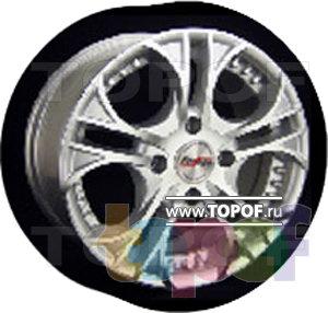 Колесные диски Forsage P1064. Изображение модели #1