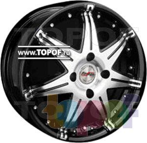 Колесные диски Forsage P1069. Изображение модели #1