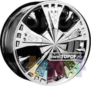 Колесные диски Forsage P1077. Изображение модели #1