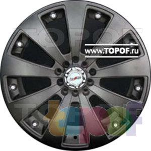 Колесные диски Forsage P1109. Изображение модели #2