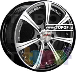 Колесные диски Forsage P1125. Изображение модели #1