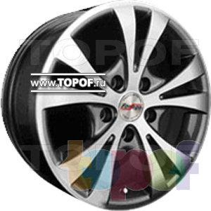 Колесные диски Forsage P1134. Изображение модели #1