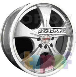 Колесные диски Forsage P1135. Изображение модели #1