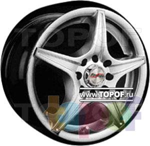 Колесные диски Forsage P1137. Изображение модели #1