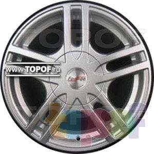 Колесные диски Forsage P1142. Изображение модели #1