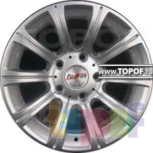 Колесные диски Forsage P1146. Изображение модели #1