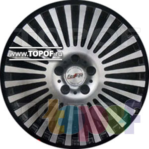 Колесные диски Forsage P1156. Изображение модели #1
