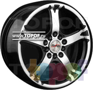 Колесные диски Forsage P1260. Изображение модели #1