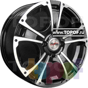 Колесные диски Forsage P1299. Изображение модели #1