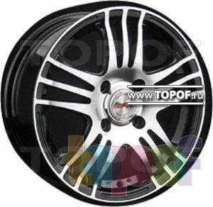 Колесные диски Forsage P1335. Изображение модели #1