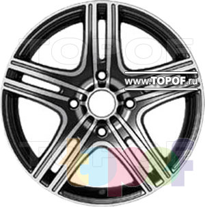 Колесные диски Forsage P1340. Изображение модели #1