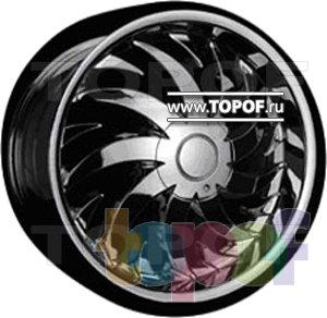 Колесные диски Forsage P8012. Изображение модели #1