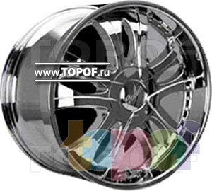 Колесные диски Forsage P8013. Изображение модели #1