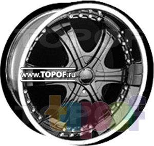 Колесные диски Forsage P8046. Изображение модели #1