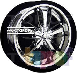 Колесные диски Forsage P8078. Изображение модели #1