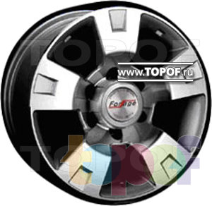 Колесные диски Forsage P8083. Изображение модели #1