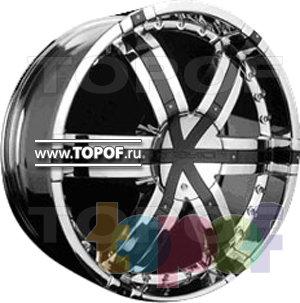 Колесные диски Forsage P8090. Изображение модели #1