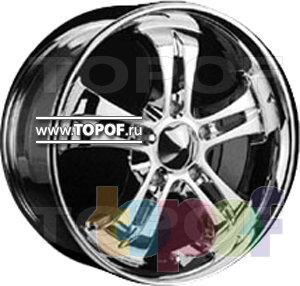 Колесные диски Forsage P8099. Изображение модели #1