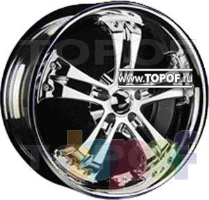 Колесные диски Forsage P8102. Изображение модели #1