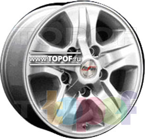 Колесные диски Forsage P8118. Изображение модели #1