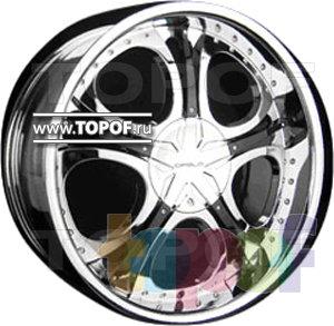Колесные диски Forsage P8127. Изображение модели #1