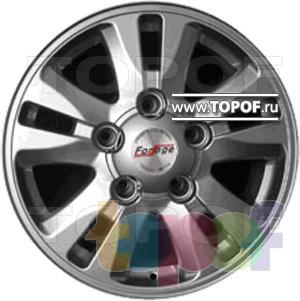 Колесные диски Forsage P8174. Изображение модели #1