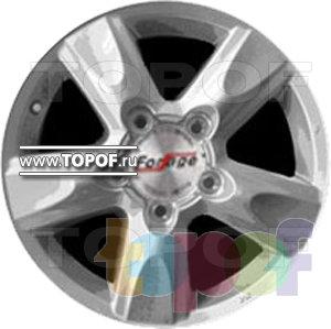 Колесные диски Forsage P8176. Изображение модели #1