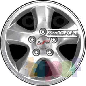 Колесные диски Forsage PA02. Изображение модели #1