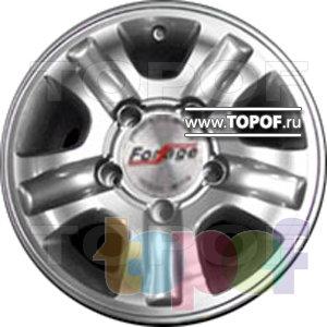Колесные диски Forsage PW0141. Изображение модели #1
