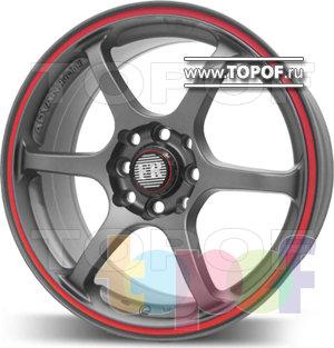 Колесные диски FR Design 659. Изображение модели #2