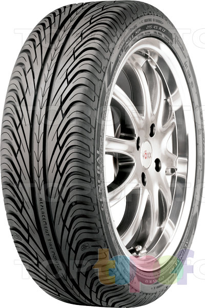 Шины General Tire Altimax HP. Изображение модели #1