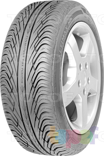 Шины General Tire Altimax HP. Изображение модели #2