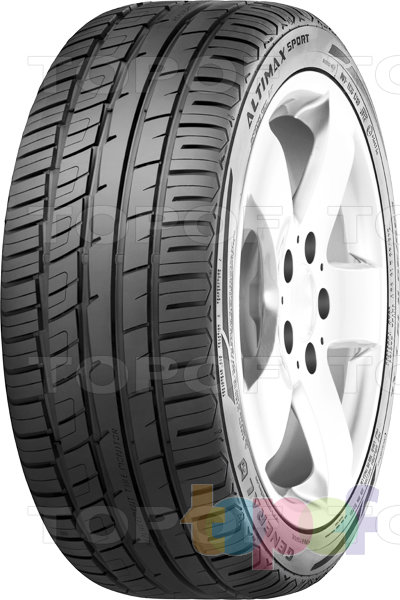 Шины General Tire Altimax Sport. Изображение модели #1