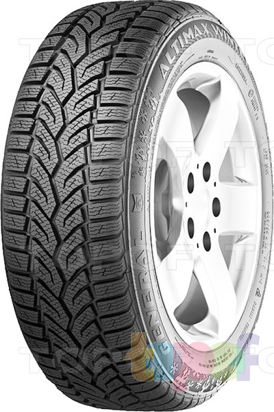 Шины General Tire Altimax Winter Plus. Изображение модели #1