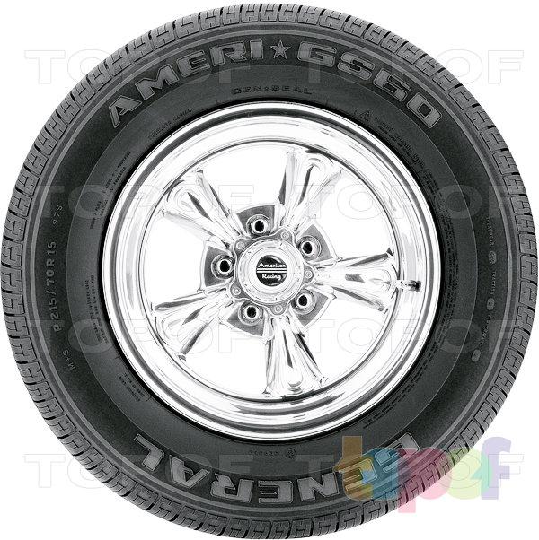 Шины General Tire Ameri GS60. Изображение модели #3
