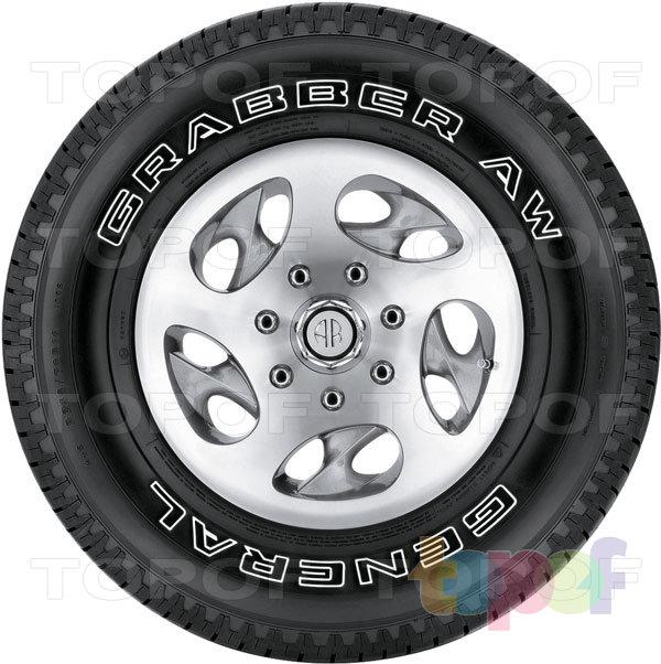 Шины General Tire Grabber AW. Изображение модели #3