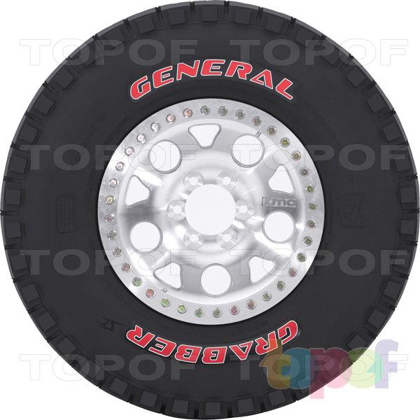 Шины General Tire Grabber Competition. Изображение модели #4