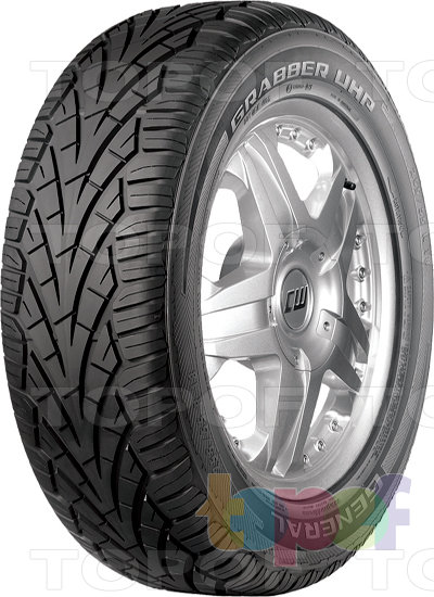 Шины General Tire Grabber UHP. Изображение модели #1
