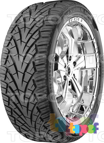 Шины General Tire Grabber UHP. Изображение модели #3