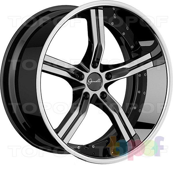 Колесные диски Gianelle Cancun. Черный с машинной полировкой