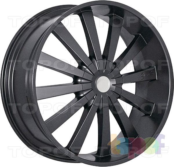 Колесные диски Gianelle Santorini II. Черный матовый