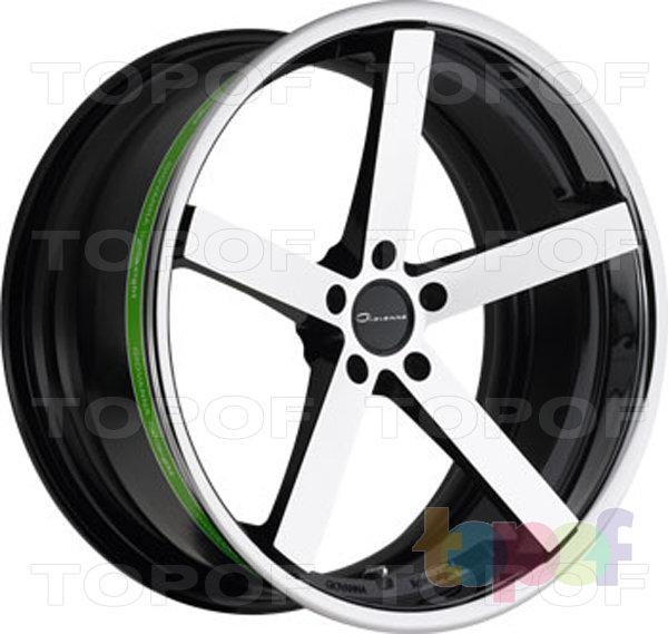 Колесные диски Giovanna Mecca. Черный с машинной полировкой