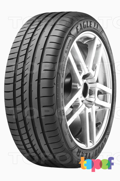 Шины Goodyear Eagle F1 Asymmetric 3. Eagle F1 Asymmetric 3 вид сбоку