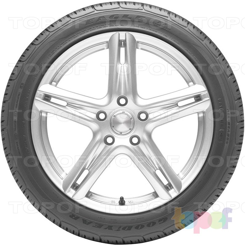 Шины Goodyear Eagle F1 Asymmetric All-Season. Вид сбоку
