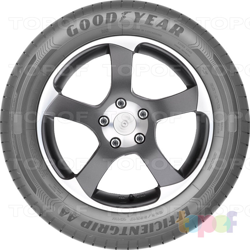 Шины Goodyear EfficientGrip AA Edition. Вид сбоку