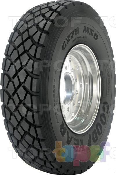 Шины Goodyear G278 MSD. Всесезонная шина для грузового автомобиля