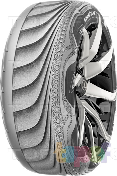 Шины Goodyear Концепт-шины Triple Tube. Изображение модели #1