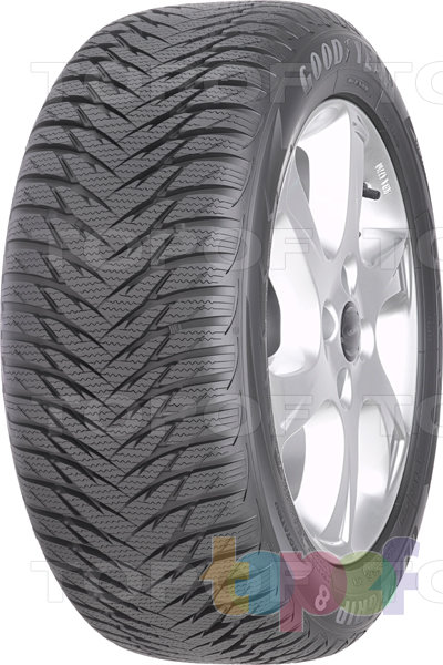 Шины Goodyear Ultra Grip 8. Изображение модели #1