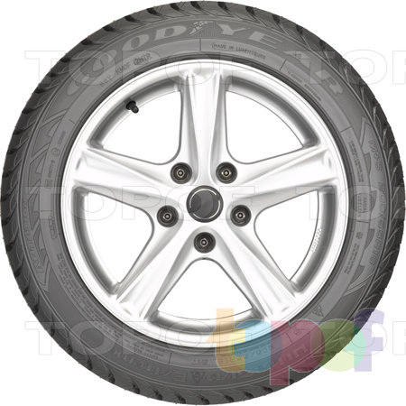 Шины Goodyear Ultra Grip Extreme. Вид сбоку