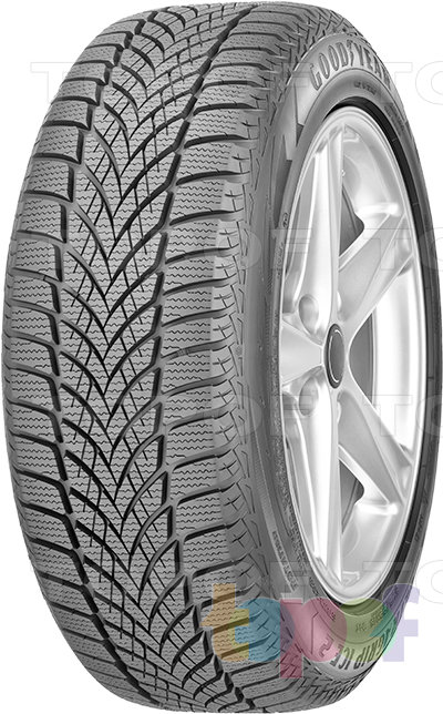Шины Goodyear Ultra Grip Ice 2. Изображение модели #1